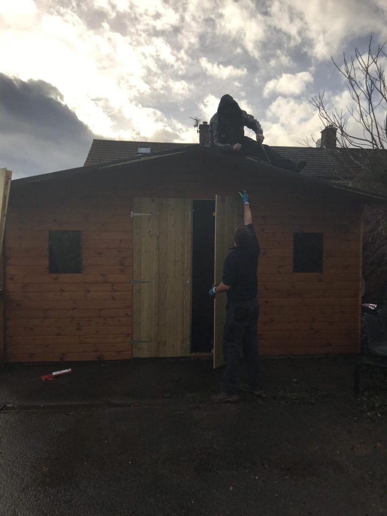 Dementia Mens Shed in progress