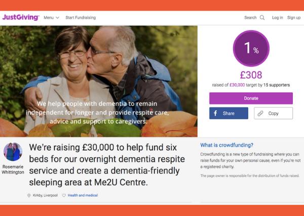 Me2U on Just Giving: Dementia-Friendly Sleeping Area