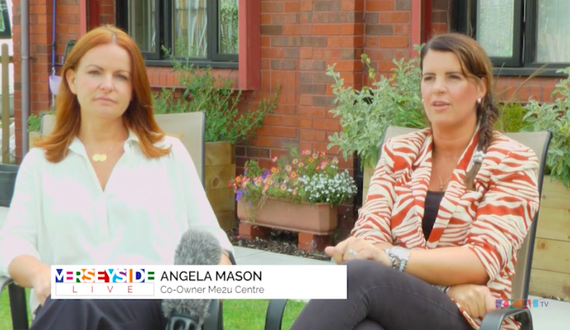 Angela on Liverpool TV