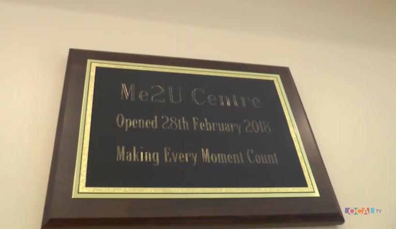 Me2U Centre plaque